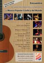 Encuentro de Guitarras, Interpretes y Compositores